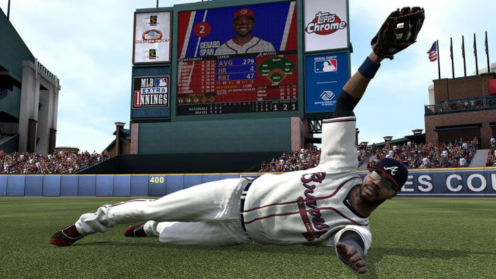 mlb  show review the screenshot