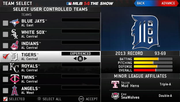 MLB 14 The Show screenshot 16