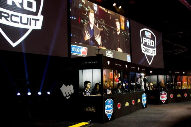 major league gaming records huge growth mlg pro circuit