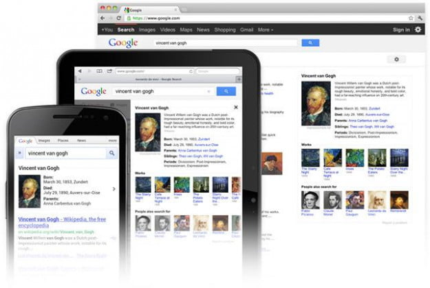 Google Knowledge Graph (mobile)