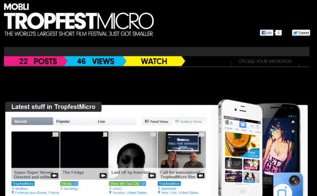 mobli tropfest channel