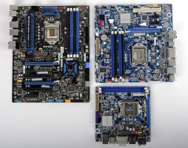 Motherboards have been shrinking steadily over the years, without sacrificing much capability.