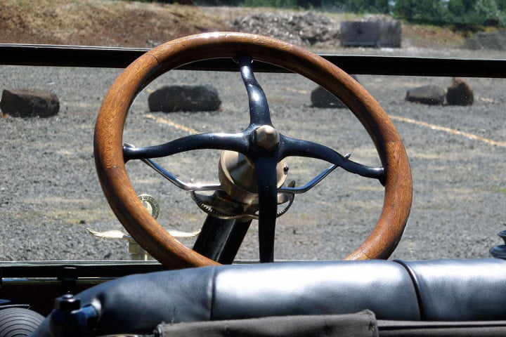 automotive revolutions  years apart how the past predicts future of driving model t steering wheel