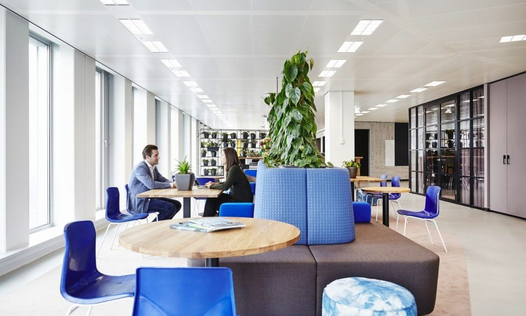 Modern Office Design Combines Function And Relaxation Digital Trends