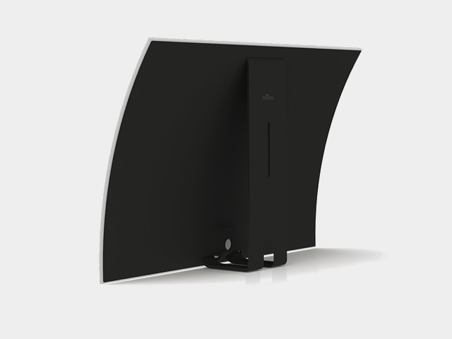 mohu curved 60 gray background