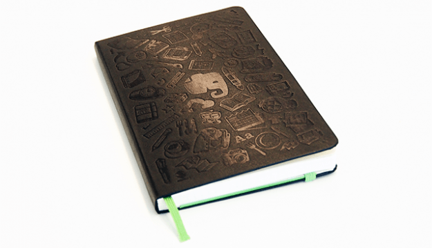 Evernote Moleskin smart notebook