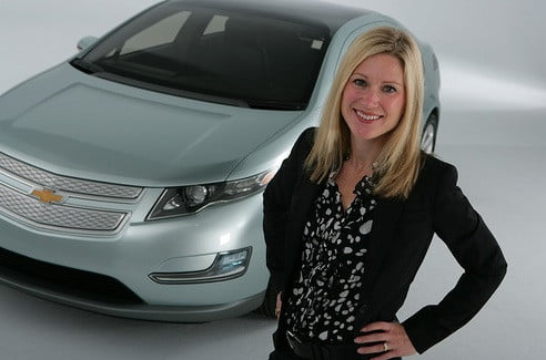Chevrolet Advertising and Promotional Director Molly Peck