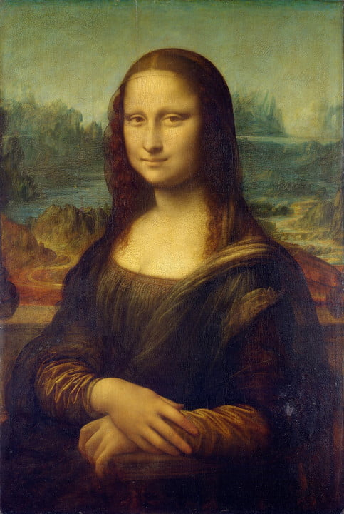 "The color of the dress and shawl worn in Leonardo da Vinci's ""Mona Lisa"" is related to Pantone 448C, which suggests it was a popular color at one time in history."