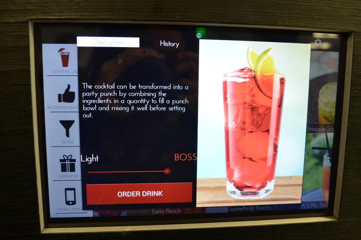 heres machine didnt know wanted artificially intelligent robotic bartender monsieur