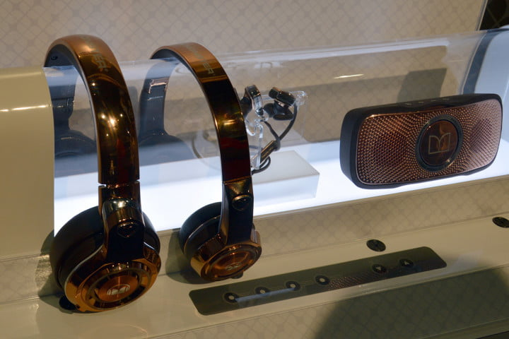 monster boombox blaster elements headphones ces lineup