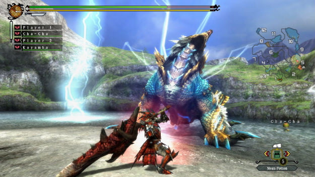 Monster Hunter 3 review dragon