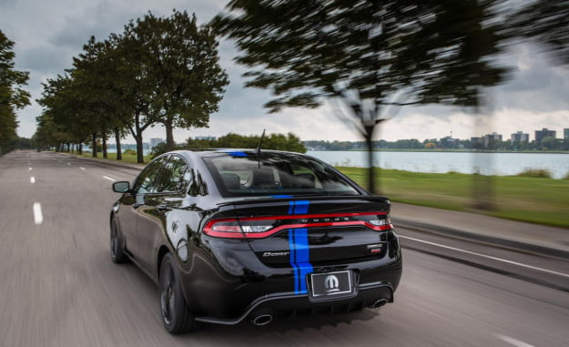 Mopar rolls out tons of new parts for the Dodge Dart, none of them make it faster2
