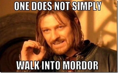 Now that you know that Boromir from The Lord of The Rings has a quotable quote, you may want to use a favorite classic film and use a distinct and popular catchphrase from it.