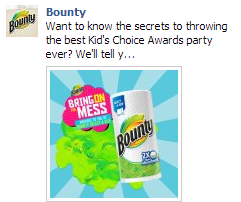 kids bounty fb ad