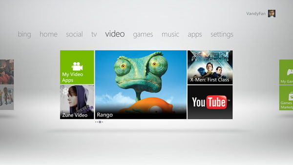 more entertainment options instantly page xbox