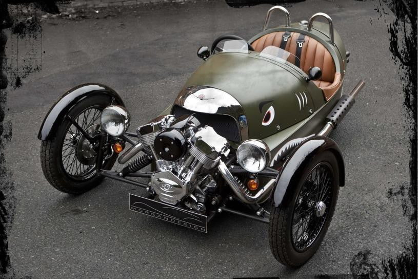 morgan three wheeler is it a car or a tricycle digital trends. Black Bedroom Furniture Sets. Home Design Ideas