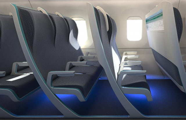 morph airline seat concept