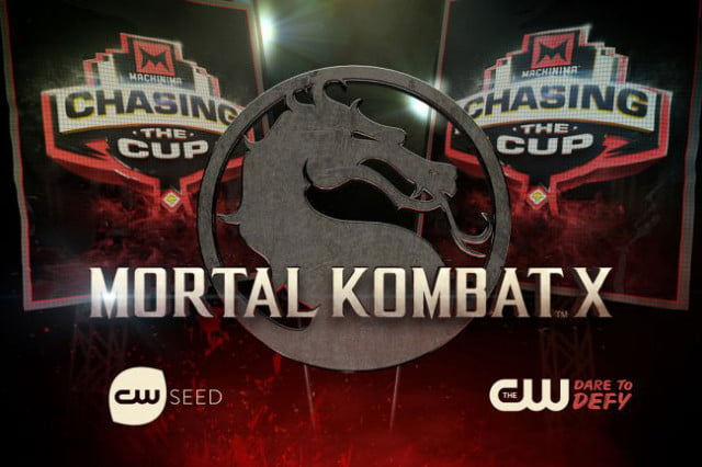 cw airing machinima mortal kombat x tournament special chasing the cup