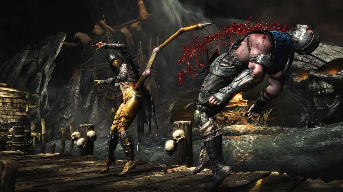 mortal kombat x lines fatalities april  release date