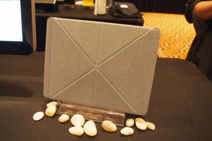 moshi one ups the ipad smart cover with origami inspired versacover iglaze hands on  covered