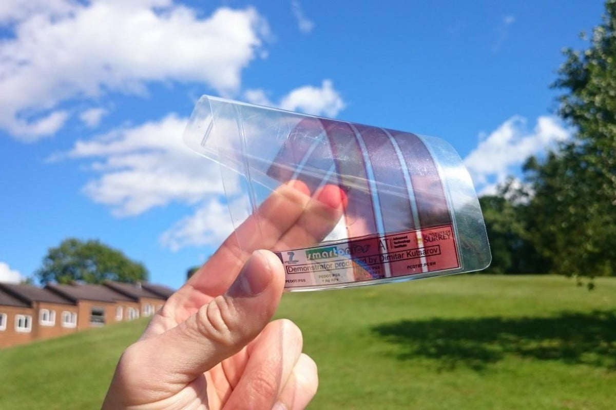 moth eye graphene solar panels