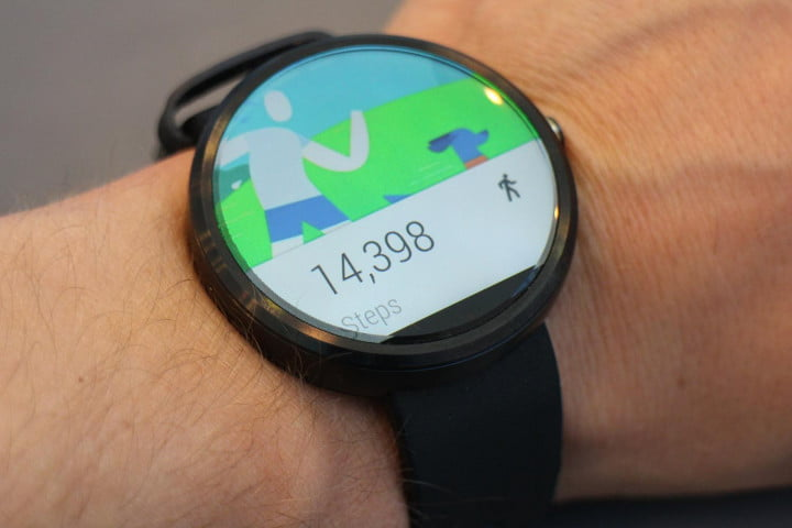 hands moto  android wear device actually want on