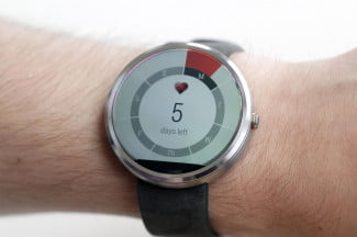 Moto 360 Watch days