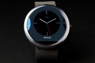 Moto 360 Watch face