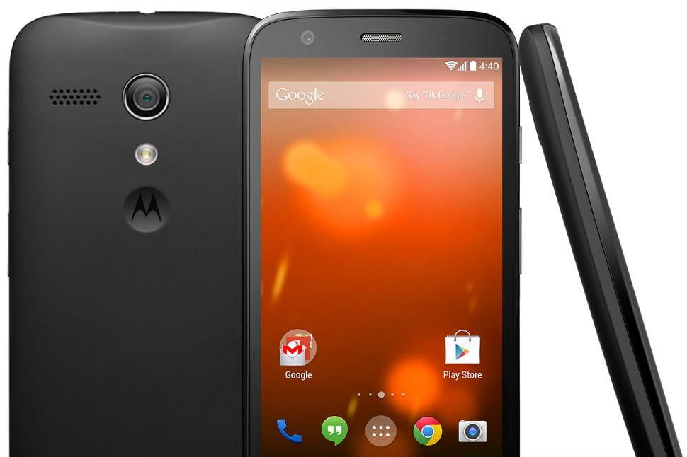 moto g google play edition released