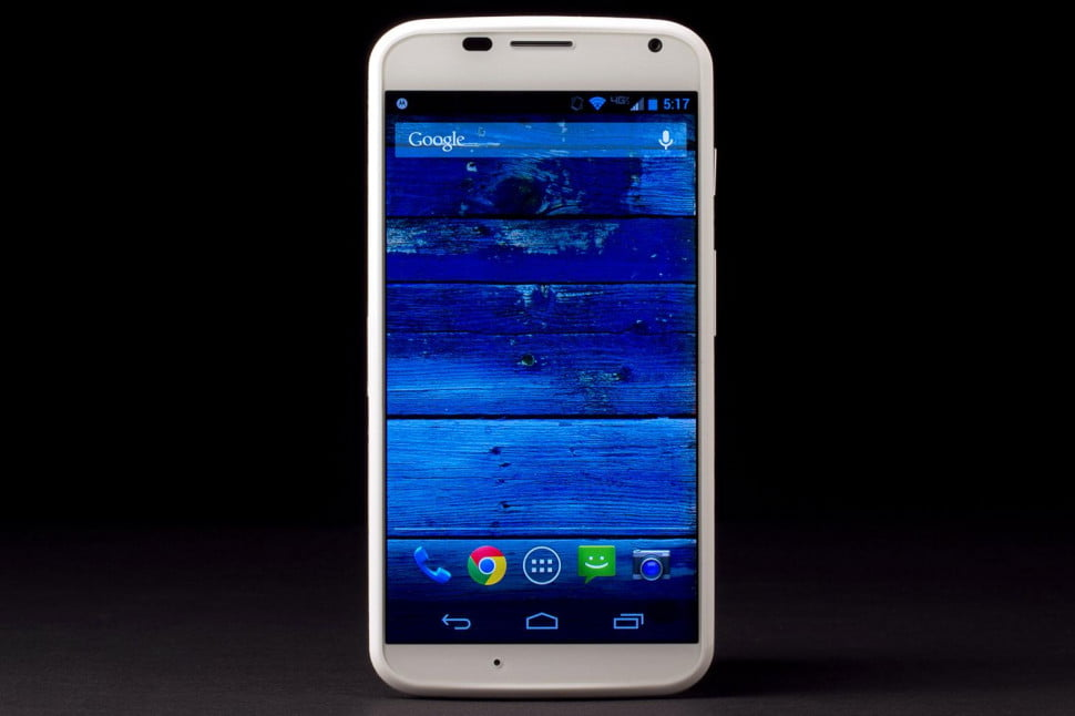Moto X front home
