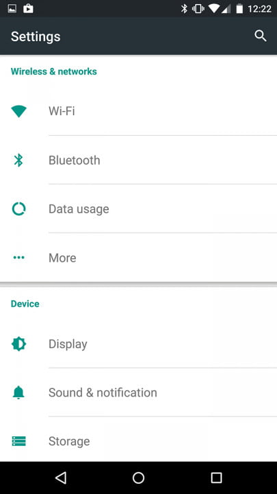 moto x style pure edition review screenshot