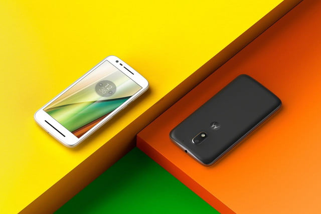moto e  news white black