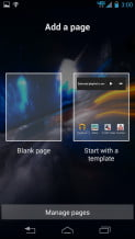 Motorola Droid Razr HD Review screenshot add a page android smartphone