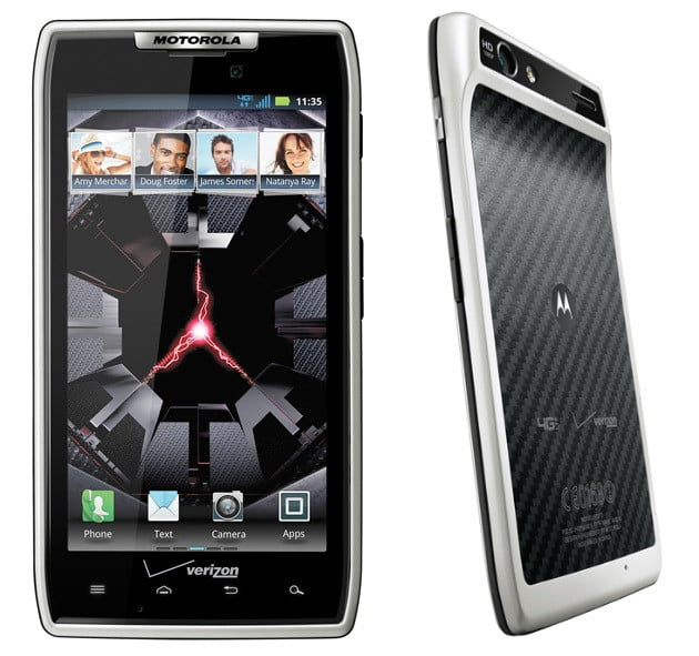 Motorola unveils Droid Xyboard tablets and a white Droid ...