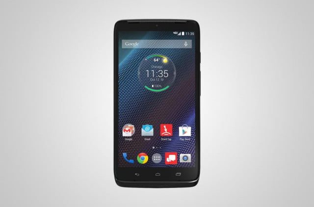 The Droid Turbo is a smartphone that runs on Verizon's CDMA network.