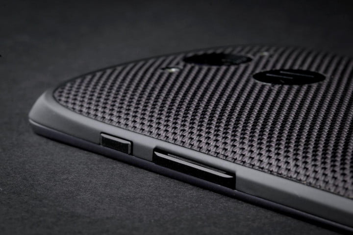 motorola droid turbo review side buttons