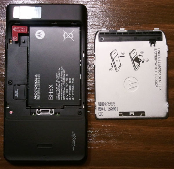 Motorola Droid X2 battery