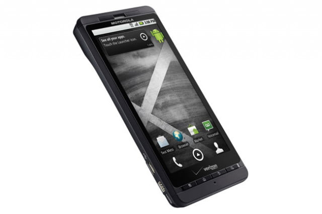 Motorola Droid X2 display angle