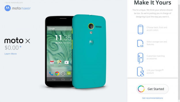 Motorola Moto X Moto Maker screenshot 14