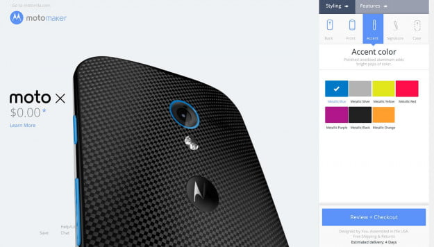 Motorola Moto X Moto Maker screenshot 9