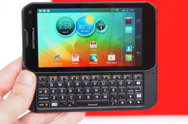 Motorola Photon Q 4G LTE Review keyboard sprint phone