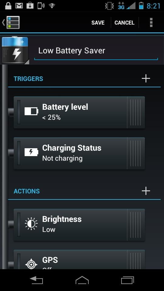 Motorola Photon Q 4G LTE Review screenshot battery level android slider phone
