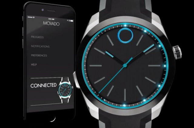 luxury watchmaker movado unveils motion and bold smarwatches