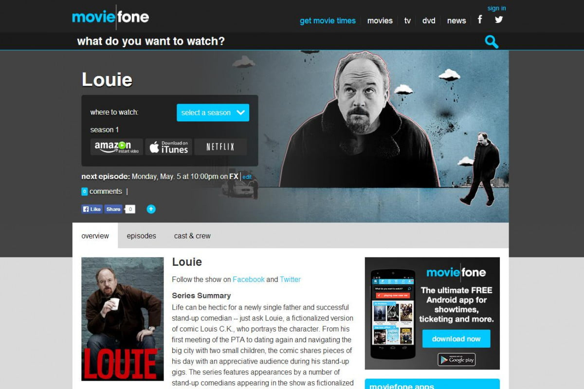 moviefone update puts tv listings palm hand movie fone louie page