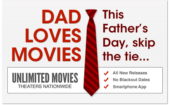 MoviePass Father's Day