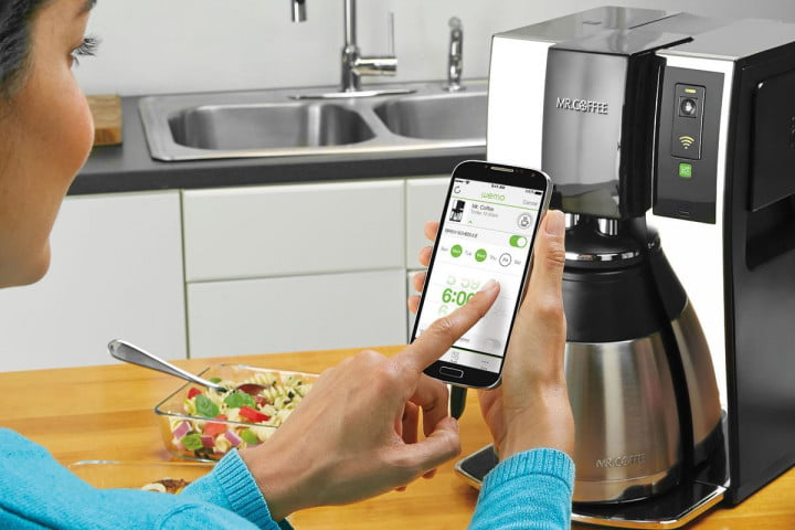 intel glue holds internet things together mr  coffee s smart coffeemaker