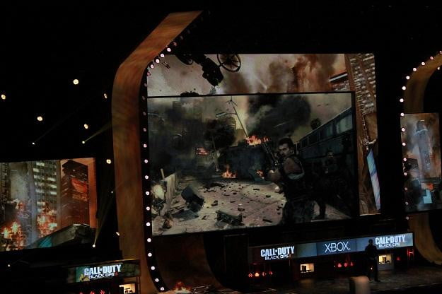 Call of Duty Black Ops2 at the Microsoft Xbox 360 E3 conference