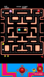 ms pacman nook screenshot nook tablet game arcade
