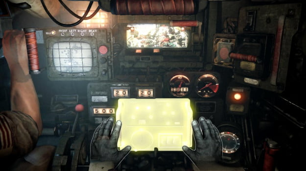 Steel Battalion: Heavy Armor for the Kinect
