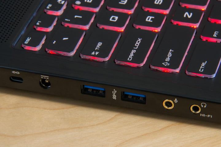 msi gs  ghost pro review laptop jacks